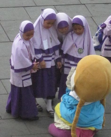 estudiantes plaza fatahillah Jakarta