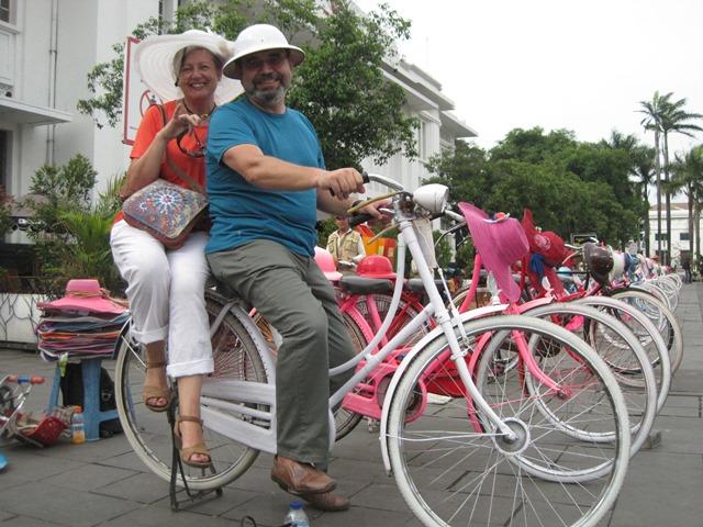 Plaza Fatahillah Jakarta.Bicis