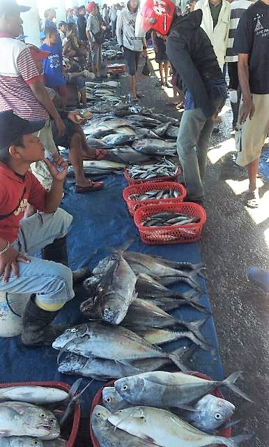 mercado indonesio pescado