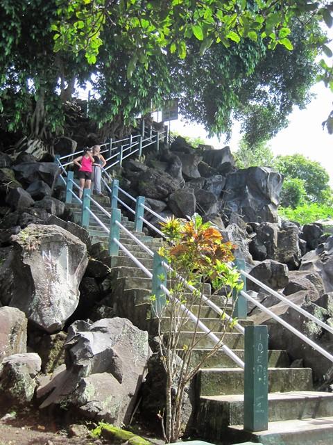 Fort Tore Tidore Indonesia subida 2