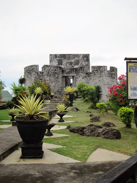 Fuerte Tolukko Ternate Indonesia