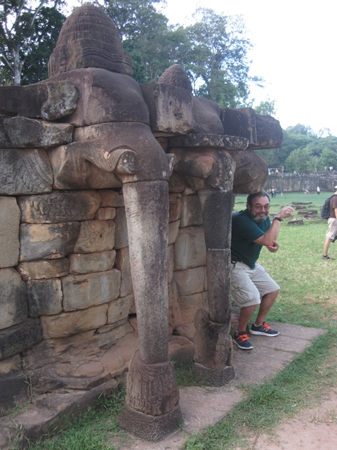 Angkor Terraza elefantes 4