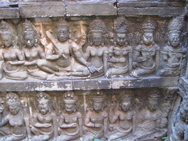 Angkor,Terraza rey leproso5