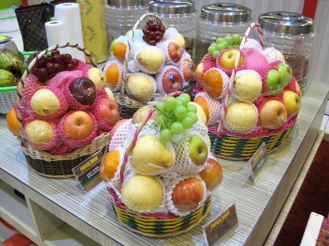 Cestas fruta indonesia