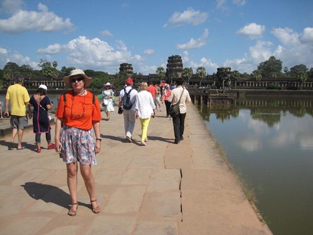 templo Angkor Wat entrada