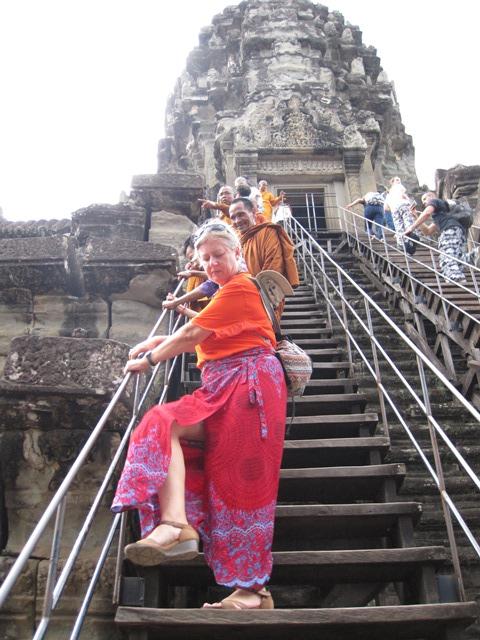templo Angkor Wat escalera 3