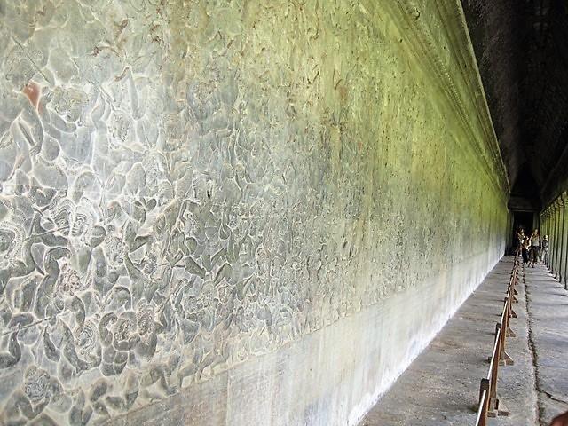 templo Angkor Wat tallas entrada
