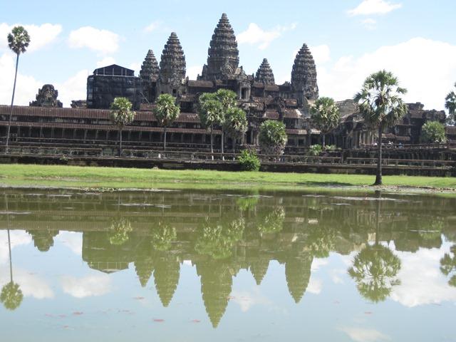 templo Angkor Wat, vista general 2