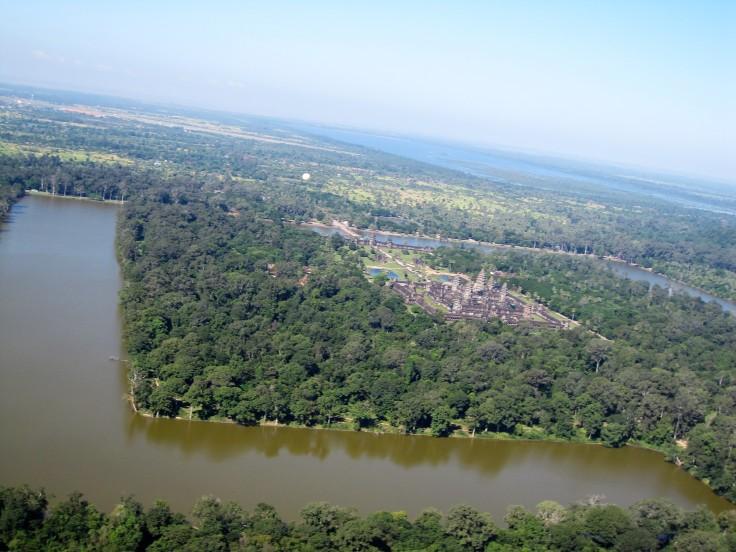 templos Angkor Camboya vuelo ultraligero 5