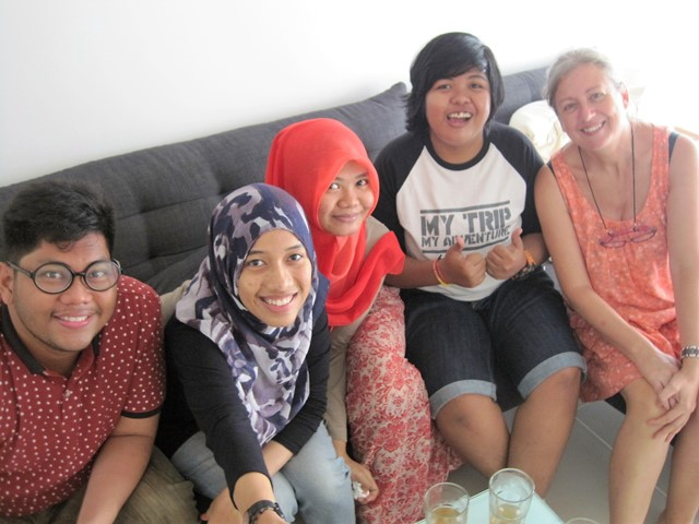 Vivir dia a dia en Indonesia gente (3)